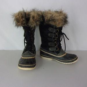 Sorel Boots Joan of Arctic Women's 9 Suede